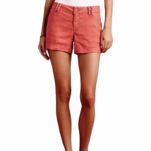 Level 99 relaxed mid rise linen chino shorts 12